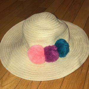 Gymboree Sunhat Hat Straw Girls 4T-5T 4T 5T